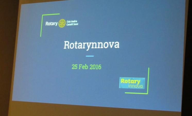 Rotarynnova giunge all'ultimo giro di boa