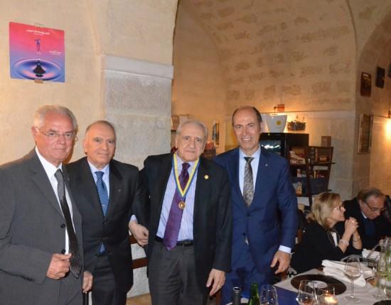 Prof. Francesco Sabatini Accademico della Crusca e Prof. Pasquale Caratù